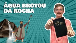 A história de Moisés e a rocha que brotou água | Contando a Bíblia Kids
