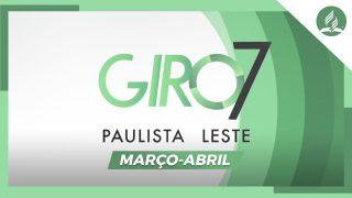 GIRO PAULISTA LESTE | Março-Abril