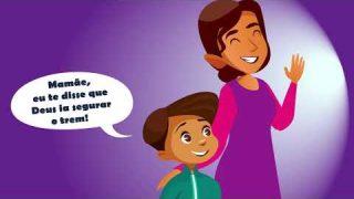 A CORRIDA PARA O TREM | Informativo Mundial das Missões – Para Menores