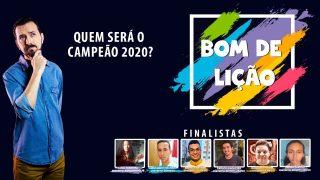 Grande Final Projeto Bom de Lição | Temporada 2020