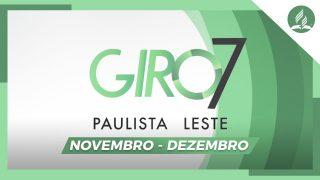 GIRO PAULISTA LESTE | Novembro – Dezembro