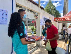 TV Tribuna (SBT) | Calebes entregam biscoitos e oram por participantes do Enem
