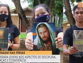 Revista Novo Tempo | Curso prepara jovens para colportagem em Goiás