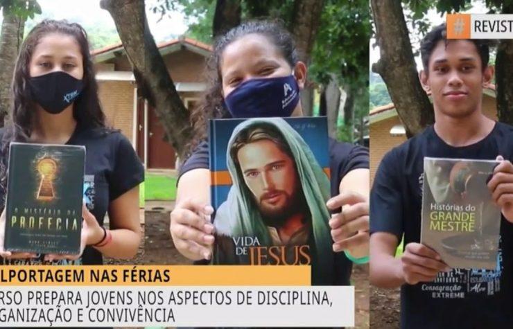 Revista Novo Tempo   Curso prepara jovens para colportagem em Goiás