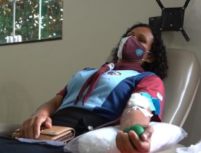 TV TRIBUNA (SBT) | Igreja vira ponto de doação de sangue e marca Dia Mundial do Jovem Adventista