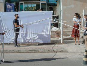 TV GAZETA (Globo)   Igreja fecha e se transforma em ponto de doação de sangue