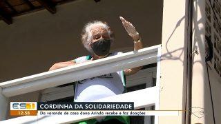TV Gazeta (Globo) | Cordinha solidária: aposentada usa corda para ajudar necessitados