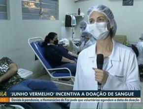 RPC Foz do Iguaçu   Jovens adventistas doam sangue no hemonúcleo
